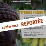 """Conférence """"L'éternel présent"""" reportée"""