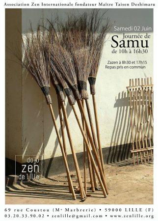 Journée de Samu 2018 Dojo Zen Lille
