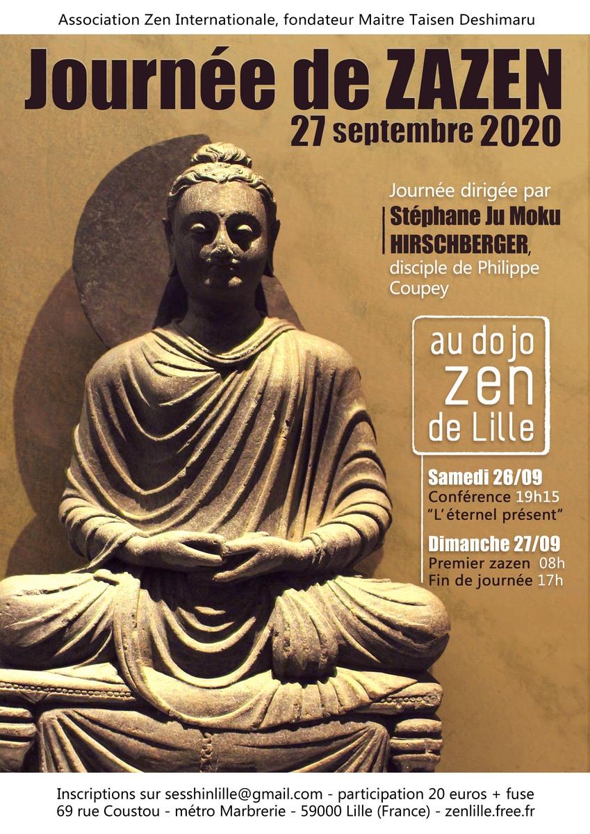 Journée de zazen 27 septembre 2020