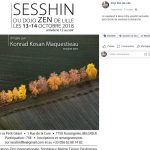 sesshin dojo zen de Lille 2018