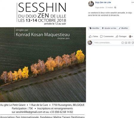 sesshin 2018